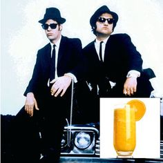 The Blues Brothers: Orange Whip - I love a creamsicle cocktail - Rumchata instead of cream