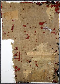 Collage/Mixed Media RED POINTS 2013 Waldemar Strempler