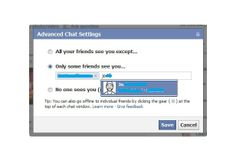 How to Hide on Facebook Chat