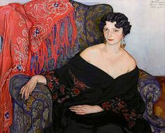 Portrait of a Woman • Elena Andreevna Kiseleva • 1930. Isn't she wonderful?