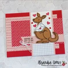 How to make three cute friendship cards using the Kangaroo & Company bundle from Stampin' UP! Friendship Cards, Stampin Up, Create, How To Make, Handmade, Hand Made, Friend E Cards, Stamping Up, Handarbeit