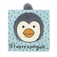JellyCat If I were a Penguin Board Book-For tons of imagination. Little Jellycat, in association with the Council For Promoting How Brilliant Penguins Are, presents the If I Were A Penguin Board Book! Bright, fun a