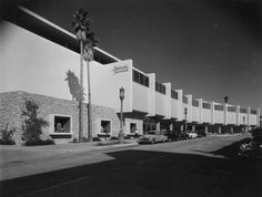 Classy Bullocks-Westwood's building of 1953 now houses a Ralphs, convenient for The Bruins.