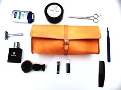 Mens Leather Dopp Kit | Cicada Leather Company