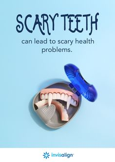 Crooked teeth are more than a cosmetic issue. Bacteria can build up in those hard-to-reach areas of the mouth and lead to health troubles in other areas of the body. Consult an Invisalign trained doctor near you to see if you're a candidate. #NationalOrthodonticHealthMonth