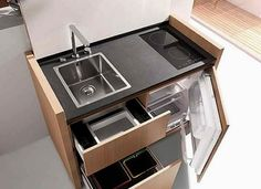 Cocinas pequeñas para espacios reducidos 03
