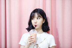 Find images and videos about pink, kpop and k-pop on We Heart It - the app to get lost in what you love. Kpop Girl Groups, Korean Girl Groups, Kpop Girls, Extended Play, K Pop, Gfriend Album, Jung Eun Bi, Entertainment, G Friend
