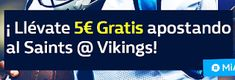 el forero jrvm y todos los bonos de deportes: william hill promocion NFL New Orleans Saints vs M...