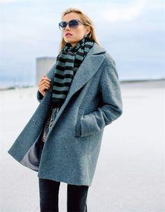 Unser Styling-Tipp: Mit dem Oversized-Mantel sind Sie dieses Jahr absolut en vogue!