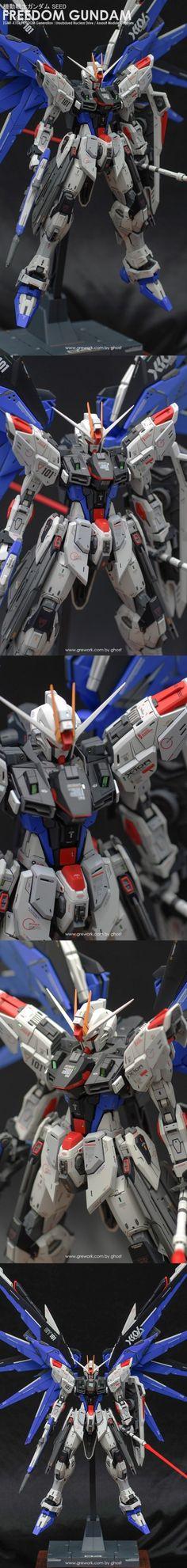 POINTNET.COM.HK - 高手作品 MG 1/100 Freedom Gundam ver 2.0