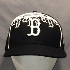low priced b4ab2 3b94d Boston Red Sox Baseball Cap Fitted Size 7 1 8 New Era T8 MA8004
