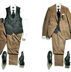 ジレのオフタイムの着こなしを紹介したPart.1に続き、Part.2ではオンタイムのコーディネイトを紹介。「ジレ」をプラスするだけでスーツを脱いでも死角なしゲーテ世代のオンタイムに必要なのは、不用意に隙を見せないことである。これからの季節、スーツの上衣を脱ぐ機…