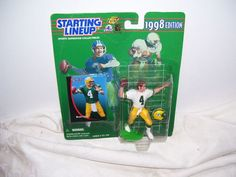 1998 Edition starting lineup Brett Favre in original package.