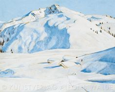 Austria, Illustration, Skiing, Museum, Mountains, Nature, Landscapes, Posters, Travel