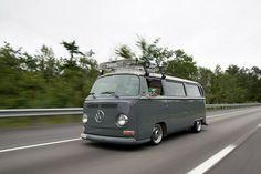 Bay window bus