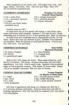 Fun Baking Recipes, Old Recipes, Vintage Recipes, Sweets Recipes, Brownie Recipes, Cooking Recipes, Cooking Ideas, Yummy Recipes, Kitchens