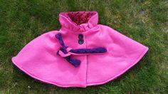 Sunny Sewing: De stof is er, nu het patroon nog: cape/poncho fleece link naar patroon