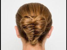 Beauty // Heart Shaped Fishtail Bun Hair Tutorial   Love Maegan   Bloglovin'