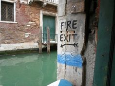 Fire Exit This Way: picture brought to you by evil milk funny pics. Image related to Fire Exit This Way