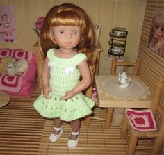 Doll Clothes / Crochet ~ free pattern ~