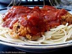 """Spaghetti & """"Meatballs"""" from """"Forks Over Knives"""" - The Health Seekers Kitchen"""