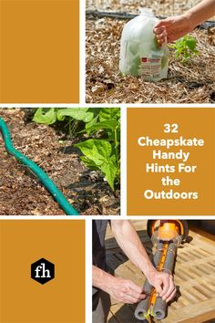 Save those milk jugs, soda cans, pool noodles and other things around your house you thought were useless. Think again! Give them a new life outdoors with these genius ideas. Silica Packets, 5 Gallon Buckets, Pipe Insulation, Yard Tools, Milk Jugs, Tiki Torches, Pool Noodles, Lawn And Garden, Drinking Water