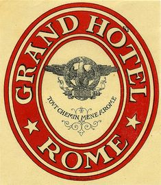 Grand Hôtel, Rome