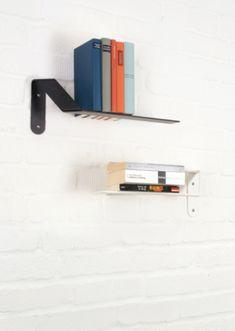 Wandsteg ist ein Regalbrett in reduziertem Design - Design plus Preis