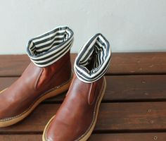 Boots by Kapital from Takanna Japan...They come in three colours and are UNISEX