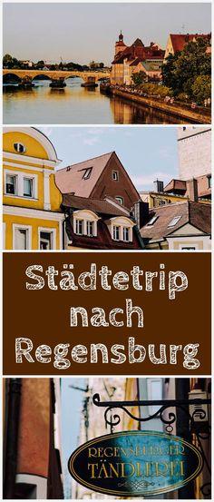 Regensburg, meine Heimatstadt, liegt mitten in Bayern und ist auch die Hauptstadt des Regierungsbezirks Oberpfalz. Hier erfährst du, was du an einem Tag in Regensburg machen kannst und was dieses Stadt so besonders macht! Most Beautiful Pictures, Beautiful Places, Art And Technology, Outdoor Settings, The Locals, Germany Travel, In The Heights, New Experience, Road Trip