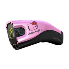 Hello Kitty Tazer ❤ liked on Polyvore featuring weapons, hello kitty, accessories, other and electronics