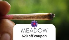 Meadow Weed : Use our Meadow Promo for $20 off your on demand weed delivery