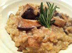 Kale With Love: Mushroom Risotto