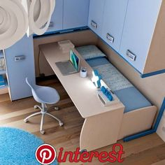 Diy Furniture Small Spaces Apartments - New ideas Room Design Bedroom, Home Room Design, Small Room Bedroom, Bedroom Decor, Bed Room, Bedroom Bed, House Design, Space Saving Furniture, Furniture For Small Spaces