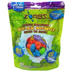 ZORBZ 50 Pack Self-Sealing Water Balloons from Target