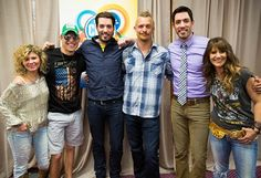 The Junk Gypsies and Farm Kings and Property Brothers at CMA Fest 2014