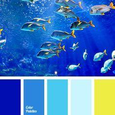 Color palettes 322992604519763637 - Color Palette Source by netoperkova Color Schemes Colour Palettes, Color Combos, Sea Colour, Color Blue, Ocean Colors, Blue Colour Palette, Color Balance, Color Theory, Color Inspiration