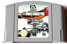 Nintendo 64 F1 World Grand Prix Spiel!Ansehen!