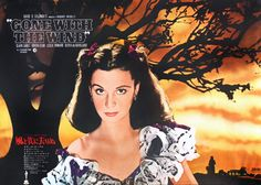 Gone With The Wind rare B1 poster: After all, tomorrow is another day.....