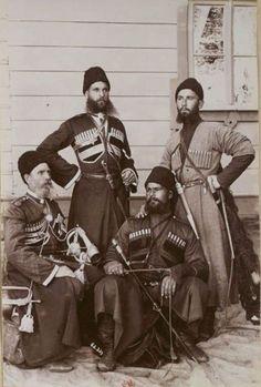Казаки личной охраны Александра III, 1892