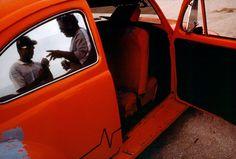 20 ALIENS — PANAMA. Panama City. 1999. Family hanging out at...