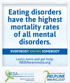 NEDAwareness Facts