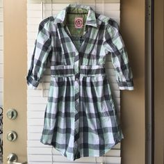 Cute plaid dress❤️❤️ For spring, summer or fall! Worn once! Dresses
