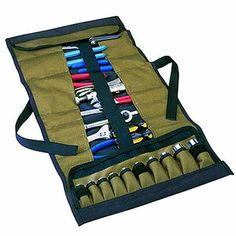 Clc Clc1173 32 Pocket Roll Up Tool Pouch