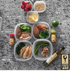 What does a balanced diet consist of? This is how I eat on a daily (besides my cheat meal twice a week when im Not competing) Fiber from rich veggies (broccoli, spinach , asparagus, kale.the greener and more colorful the better , complex carbs that keep Diet Recipes, Cooking Recipes, Healthy Recipes, Healthy Tips, Healthy Carbs, Healthy Foods, Fit Foods, Cheat Meal, Small Meals