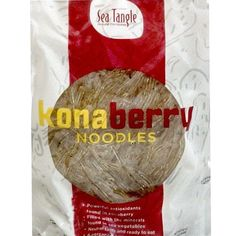 Sea Tangle Kona Berry Noodles (12x12Oz)
