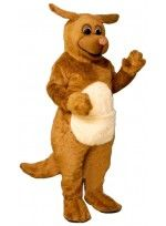 Mascot costume #1723-Z Rudy Roo