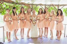 Espectaculares Hermosos Vestidos para Damas de Honor de Boda