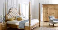 With a statement bed, everything else about your bedroom blurs into the background. Perhaps that's why they're so popular as there's nothing else worth truly indulging in than the sight of your very own sleep space. From four poster delights to extravagant upholstery, there are many ways to invest in a statement bed. But what should you look for when buying the bed of your dreams?