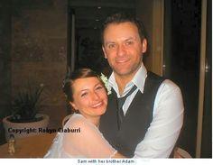 Samantha and Adam Gibb, Maurice's children